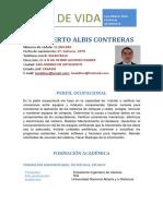 Hoja de Vida Luis_Albis