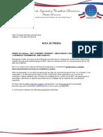 Nota de Prensa 13042013