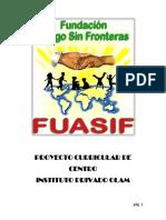 Proyecto Curricular de Centro Pcc