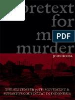 Roosa, John - Pretext for Mass Murder