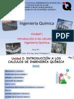 Introducción a los calculos en ing. química