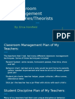 classroom management theories theorists  1