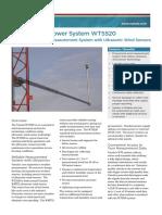 WTS520 Datasheet in English