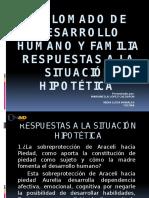 Diplomado de Desarrollo Humano Y FAMILIA Respuestas a La Situación Hipotética