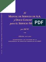 El Manual de Servicio de AA y Doce Conceptos Para El Servicio Mundial Por Bill W[1].