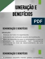 Remuneração e Benefícios - Slides