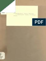 A Bilingual Index of Nyaya Bindu - Satish Chandra Vidyabhushana 1917 (BIS)