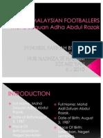 Malaysian Footballers