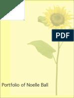 Noelle Ball Portfolio