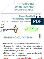Pharmacokinetic & Pharmacodynamic