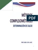 QU 201 I 15 Complejometria