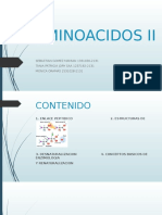 Aminoacidos II