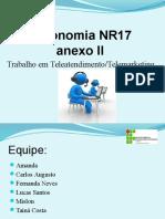 Ergonomia NR17 Anexo II p2