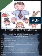 Literatura y Pedagogía