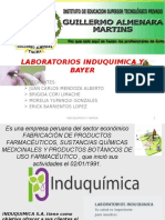 Laboratorios Induquimica y Bayer