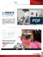 Tablero Digital Interactivo T-board