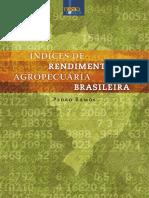 Livro - Índices de Rendimento Da Agropecuária Brasileira