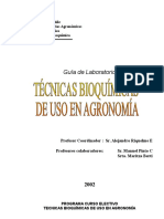 Bioquímica Para Agrónomos
