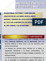 TEMA 10. MATERIA Y ENERGÍA EN LOS ECOSISTEMAS