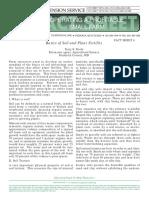 Basic Soil and Plant Fertility