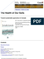 Health of Soils