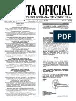 Gaceta Oficial Número 40.876 de la República de Venezuela, 31 de marzo de 2016