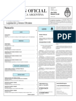 Boletín Oficial de la República Argentina, Número 33.348. 01 de abril de 2016