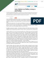 REDE SP Discute a Mulher Na Política, e Lança a Campanha #ElesPorElas _ Portal SOMA (DINO)
