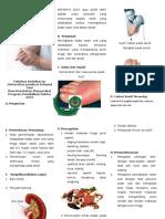 Leaflet Gout Arthritis