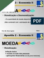 Apostila 2a - Economia - Slides