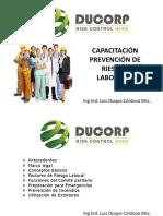 Capacitación Prevención de Riesgos