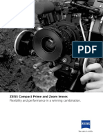 Zeiss Brochure Compact Prime and Zoom Lenses