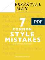 BEST Dressing for Men. 7 Common Style Mistakes, And How to Fix Them