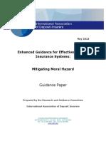 IADI Mitigating Moral Hazard Enhanced Guidance 2013-05