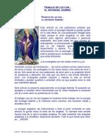 Trabajo de Luz Con El Arcángel Gabriel
