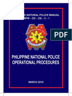 Police Operational Procedure Manual 2010