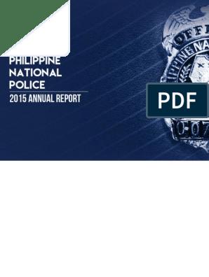 PNPAnnualReport2015_opt_opt pdf | Police | Procurement