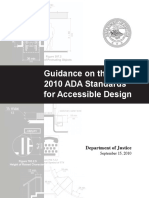 2010 ADA Guidance Standards-2010