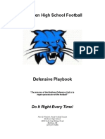 BHS Defensive Playbook