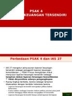 PSAK 4 Laporan Keuangan Tersendiri Revisi 2013 01062015