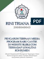 PPT Outline Rini