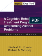 A CBT Program for Alcoholism