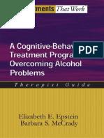 A CBT Program for Alcoholism