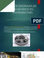 Uso de Engranajes Planetarios en Transmisiones 1