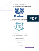 Analisa Laporan Keuangan Unilever