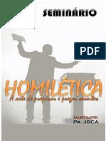 HOMILÉTICA - A Arte de Preparar e Pregar Sermões (Pr. Joca)
