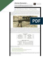 Ruger SR-22 Revisión_ Parte 5 - Prueba de Rango