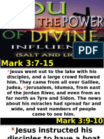 You Have the Power of Divine Influence Salt and Lightby BISHOP WISDOM112215