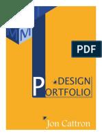 Design Portfolio, Jonathan Cattron