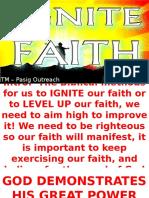 IGNITE FAITH by Dra Irene 092715 Pasig Docx